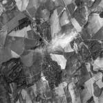 Снимок Окницы из космоса, сделанный спутником-шпионом США 2 августа 1970 года
