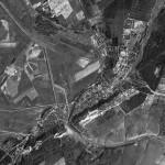 Снимок Оргеева из космоса, сделанный спутником-шпионом США 2 августа 1970 года