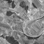 Снимок Сорок из космоса, сделанный спутником-шпионом США 24 сентября 1965 года