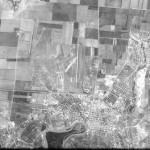 Снимок Тирасполя из космоса, сделанный спутником-шпионом США 24 сентября 1965 года