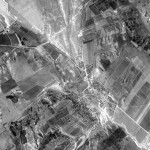 Снимок Яловен из космоса, сделанный спутником-шпионом США 24 сентября 1965 года