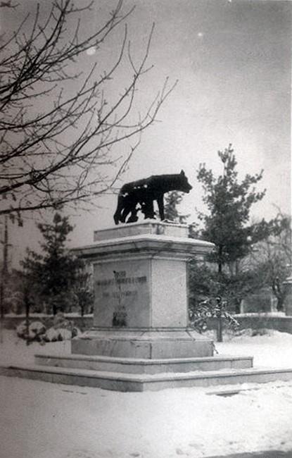 Капитолийская волчица в Кишинёве