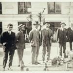 Кишинёвцы на улицах города. Межвоенный период.