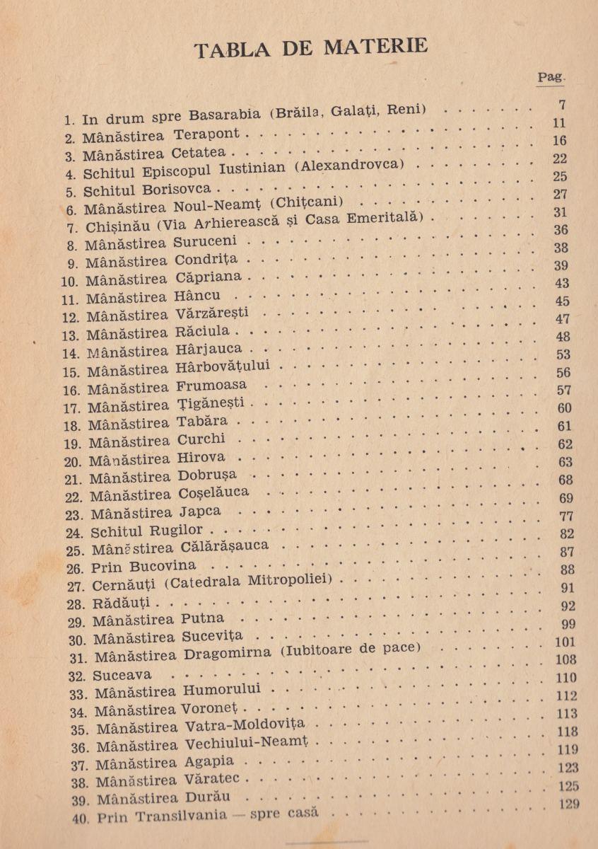 "Pr. Dimitrie P. Micșunescu, ""Vizitând mănăstiri basarabene și bucovinene"""